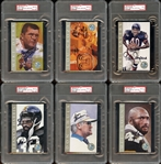 1998 Ron Mix Hall of Fame Platinum Edition Complete Set All PSA/DNA Graded