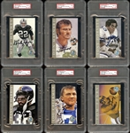 1998 Ron Mix Hall of Fame Platinum Series Autographed Group of (85) All PSA/DNA