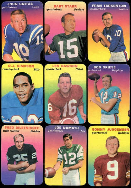 1970 Topps Glossy Complete Set