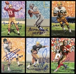 1989-2016 Goal Line Art Hall of Fame Autographed Card Group of (199)