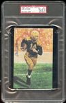 1989-Date Goal Line Hall of Fame #71 Don Hutson PSA/DNA 10 (Auto)