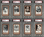 1975 Fleer Football Hall of Fame Group of (98) with (81) Autographed All PSA Graded