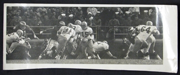 1960 Bart Starr Packers vs. Eagles Championship Game Type I Original Photo