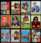1960-1969 Topps, Philadelphia and Fleer Football Group of (275) with Stars and HOFers