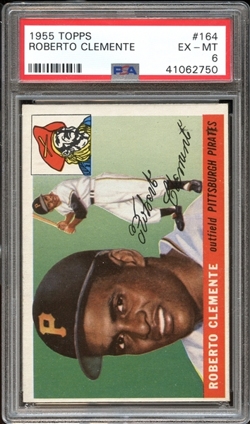 roberto Clemente, psa graded, baseball card