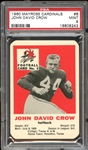 1960 Mayrose Cardinals #6 John David Crow PSA 9 MINT