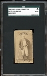 1887 N172 Old Judge Pud Galvin (Skinned) SGC AUTHENTIC