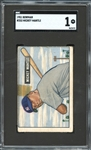 1951 Bowman #253 Mickey Mantle SGC 1 PR
