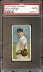 1909-11 T206 Sweet Caporal 350-460/25 John McGraw Glove at Hip PSA 2 GOOD