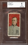 1909-11 T206 Polar Bear Ty Cobb Portrait Red BVG 1 POOR