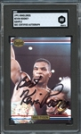1991 Ringlords Kevin Mike Tyson Kevin Rooney Autographed Sample SGC Authentic