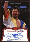 2011 Topps Marquee Monumental Markings Autographs Manny Pacquaio #MM-MP