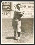 1933 Joe DiMaggio PSA/DNA Type I Original Photograph Used for 1935 Pebble Creek Clothiers Card