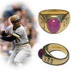 Roberto Clementes 1972 MLB All Star Ring-The Last Ring of His Career-Fresh to the Hobby