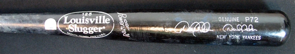 2002 Derek Jeter Game-Used and Signed Bat LOA/Steiner and PSA/DNA GU 9