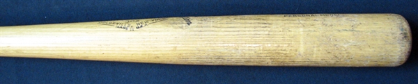 1959-60 Eddie Mathews Signed  Game-Used Adirondack Bat PSA/DNA GU 10