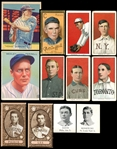 1909-1948 Mostly Pre-War Grab Bag Group of (26) Cards Includes HOFers