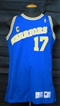 1992-93 Chris Mullin Golden State Warriors Game-Used Jersey