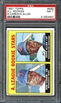 1967 Topps #569 Rod Carew PSA 7 NM