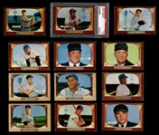 1955 Bowman Baseball Complete Set