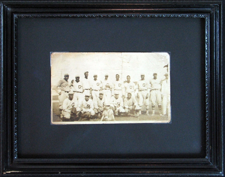 Circa 1928 Negro League Real-Photo Postcard Featuring Martin Dihigo and Jud Wilson