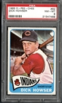 1965 O-Pee-Chee #92 Dick Howser PSA 8 NM/MT