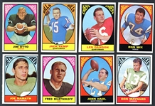1967 Topps Football Near Complete Set (131/132)