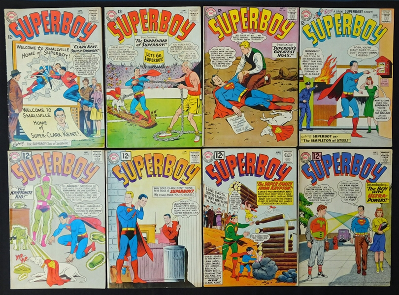 1962-1982 Superboy/Legion of the Superheroes Comic Book Group of (109)