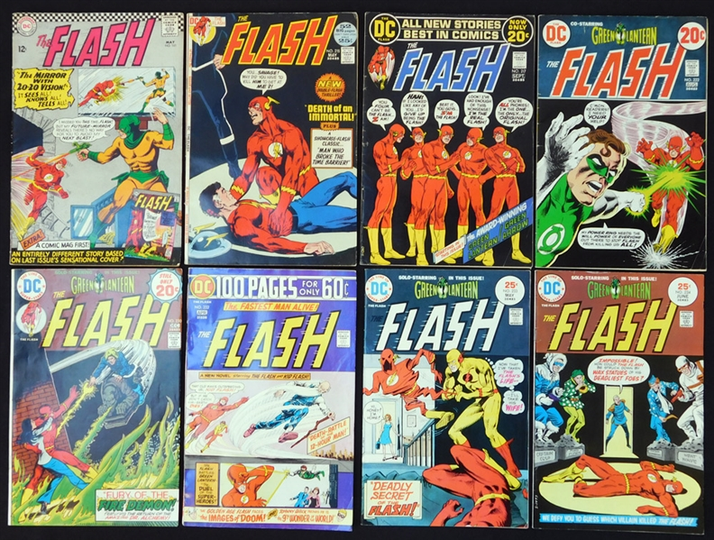 1966-1984 The Flash Comic Book Group of (61)