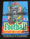 1986 Topps Football Unopened Wax Box BBCE