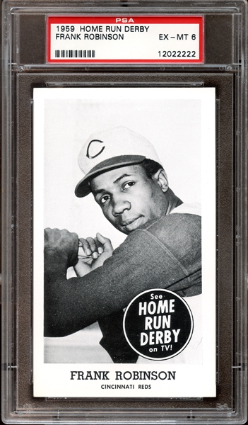 1959 Home Run Derby Frank Robinson PSA 6 EX/MT