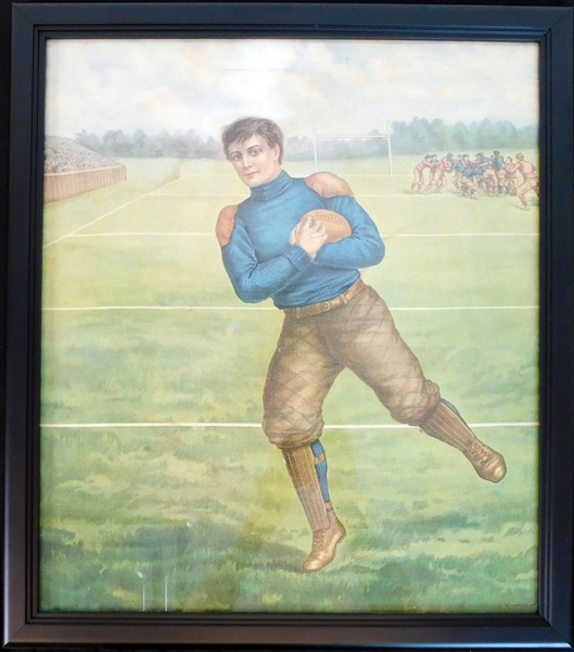 1905 Penn State Football Color Canvas
