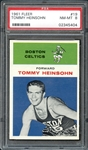 1961 Fleer #19 Tommy Heinsohn PSA 8 NM-MT