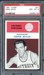 1961 Fleer #41 Gene Shue PSA 8 NM-MT