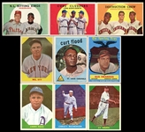 1954-61 Topps, Bowman & Fleer Group of over 1000 Baseball Cards