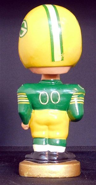 1965-67 Green Bay Packers Round Base Bobbing Head Doll