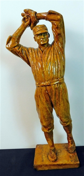 Exceptionally Rare 1924 Walter Johnson Statue by Ulric Dunbar