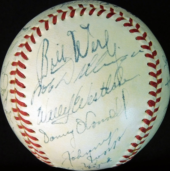 1950 Pittsburgh Pirates Team-Signed ONL (Frick) Ball with (24) Signatures