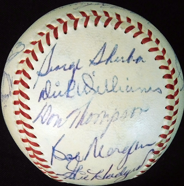 1953 Brooklyn Dodgers Team-Signed ONL (Giles) Ball with (21) Signatures