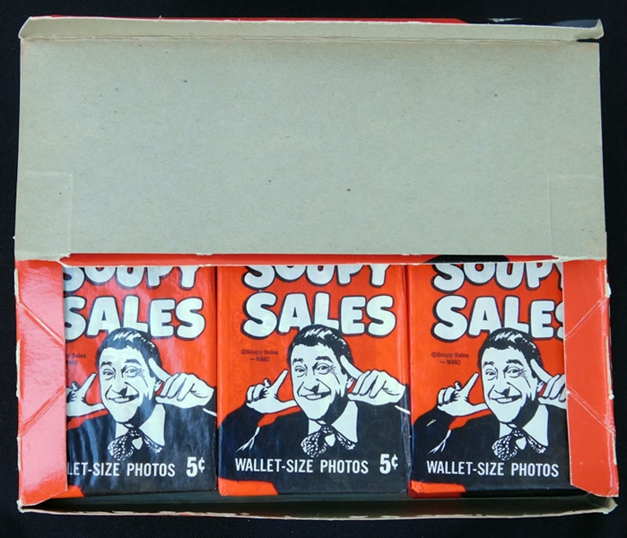 1967 Topps Soupy Sales Full Unopened Wax Box
