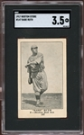 1917 H801-8 Boston Store #147 Babe Ruth SGC 3.5 VG+
