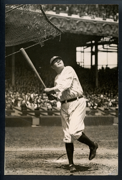1922 Babe Ruth Type I Original Photograph-His First Appearance After Suspension PSA/DNA