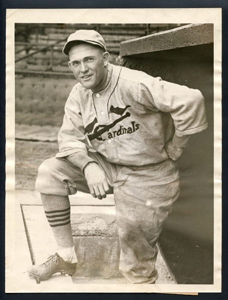 1920s Rogers Hornsby Type I Original Photograph PSA/DNA