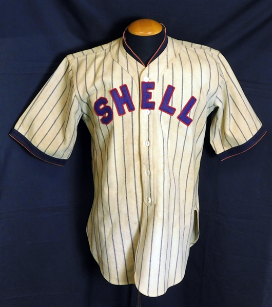 1920s Shell Oilers Jersey with Stirrups