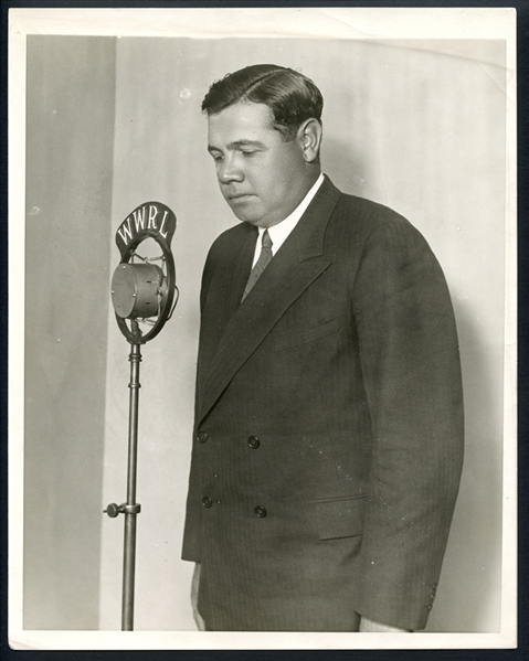 Babe Ruth Type I Original Photograph From the Christy Walsh Estate PSA/DNA
