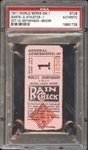 1911 World Series Game 1 Ticket Stub PSA AUTHENTIC