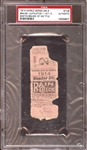 1914 World Series Game 4 Ticket Stub PSA AUTHENTIC