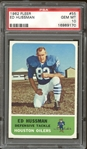1962 Fleer #55 Ed Hussman PSA 10 GEM MINT