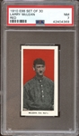 1910 E98 Set of 30 Larry McLean Red PSA 7 NM