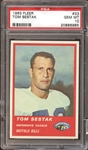 1963 Fleer #33 Tom Sestak PSA 10 GEM MINT